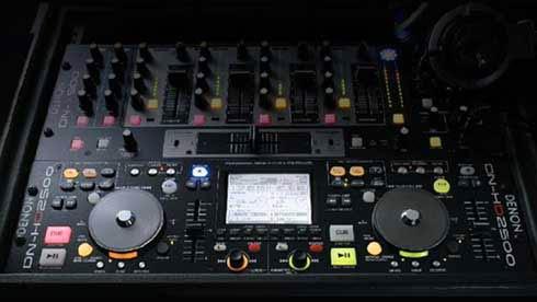 DENON-DJ hard disk player