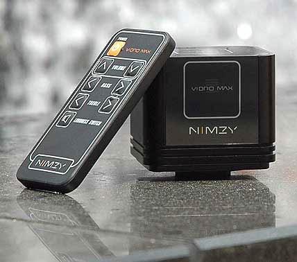 A Vibro MAX távirányítóval