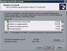 Windows összetevők
