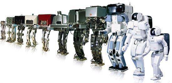 Asimo robotok